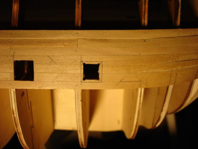 harald60 Baubericht der 2te Victory aus Holz Stueck13