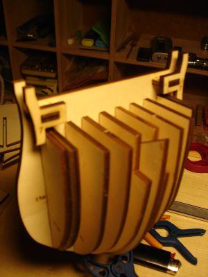 harald60 Baubericht der 2te Victory aus Holz Victor10