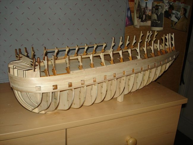 harald60 Baubericht der 2te Victory aus Holz Victor14