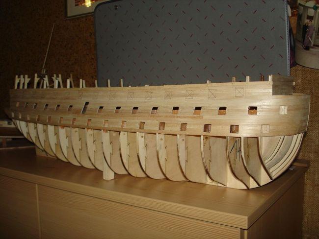 harald60 Baubericht der 2te Victory aus Holz Victor16