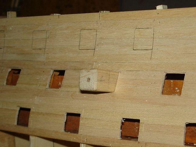 harald60 Baubericht der 2te Victory aus Holz Victor18