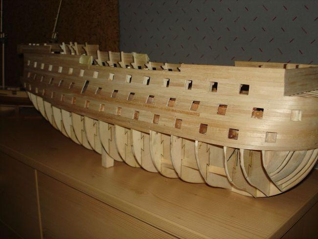 harald60 Baubericht der 2te Victory aus Holz Victor19