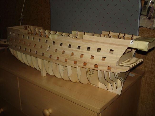 harald60 Baubericht der 2te Victory aus Holz Victor20