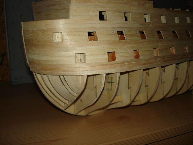 harald60 Baubericht der 2te Victory aus Holz Victor21