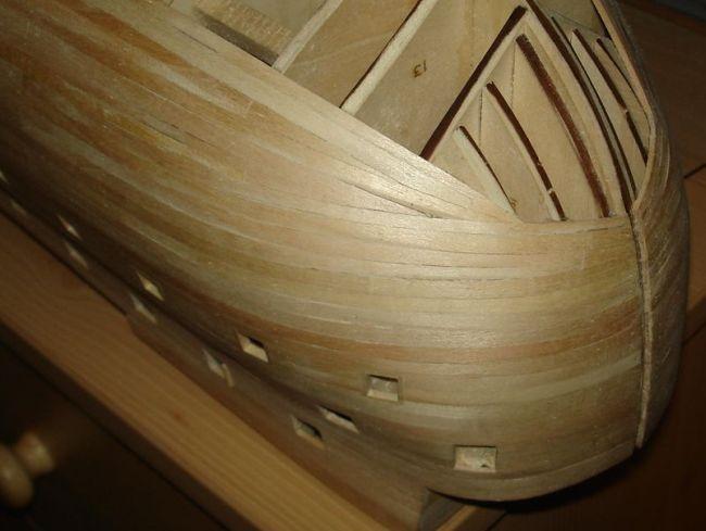 harald60 Baubericht der 2te Victory aus Holz Victor25