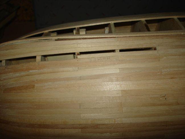 harald60 Baubericht der 2te Victory aus Holz Victor27