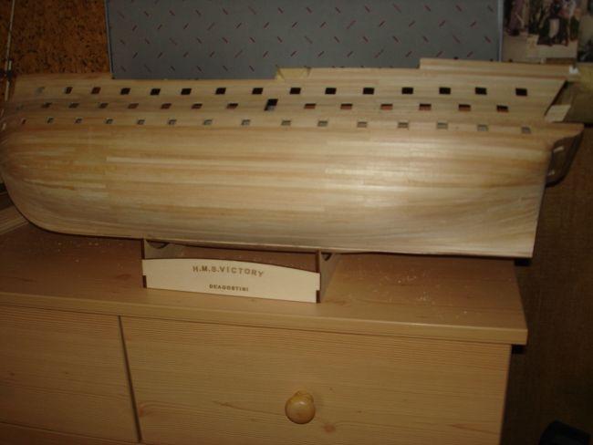 harald60 Baubericht der 2te Victory aus Holz Victor29