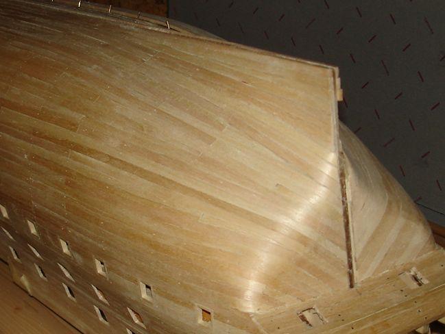 harald60 Baubericht der 2te Victory aus Holz Victor32