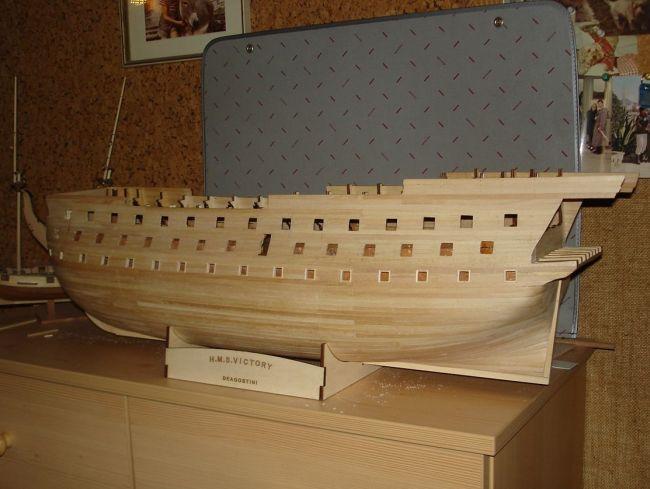 harald60 Baubericht der 2te Victory aus Holz Victor34