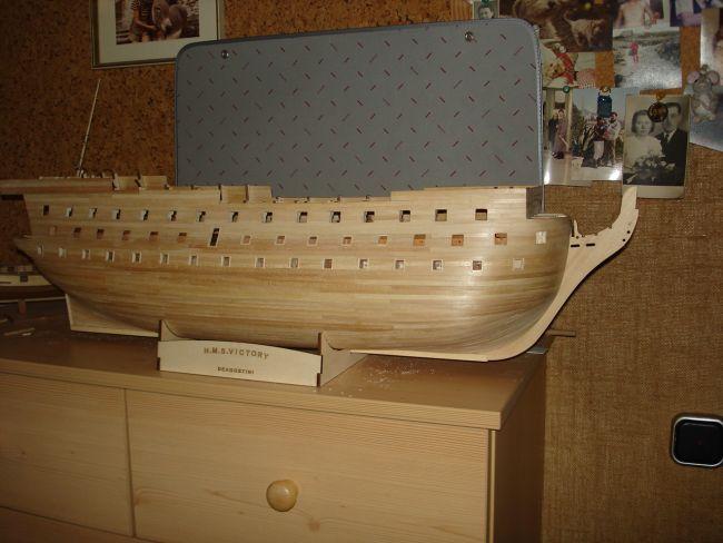 harald60 Baubericht der 2te Victory aus Holz Victor35