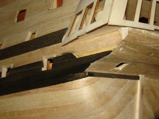 harald60 Baubericht der 2te Victory aus Holz Victor37