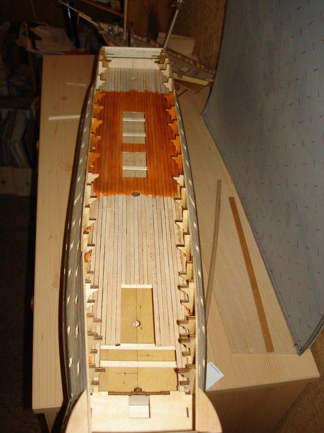 harald60 Baubericht der 2te Victory aus Holz Victor39