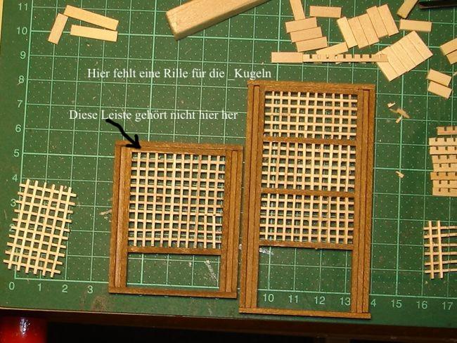 harald60 Baubericht der 2te Victory aus Holz Victor40