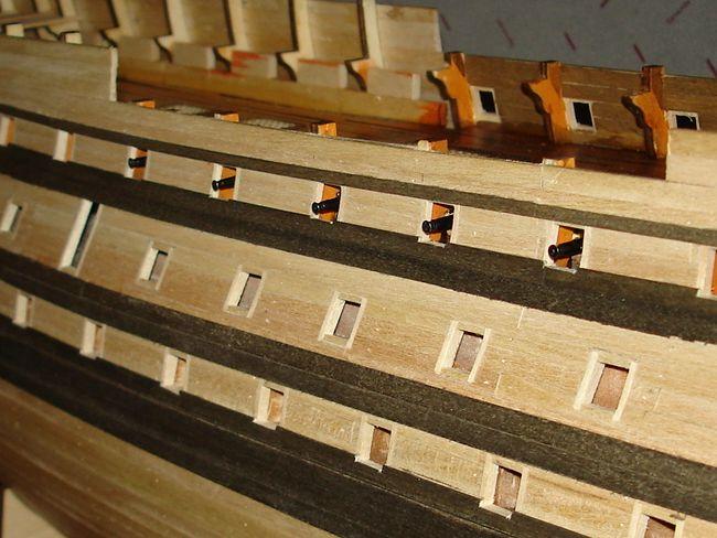 harald60 Baubericht der 2te Victory aus Holz Victor42