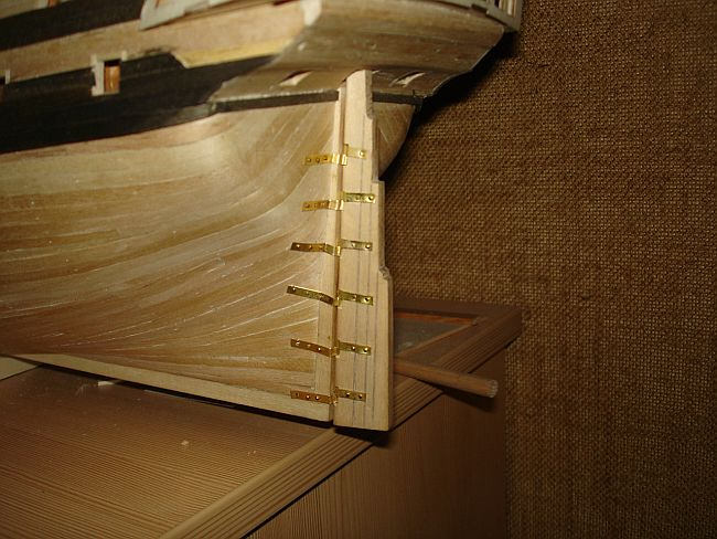harald60 Baubericht der 2te Victory aus Holz Victor43