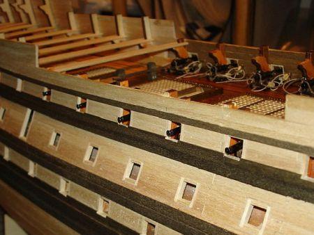 harald60 Baubericht der 2te Victory aus Holz Victor46