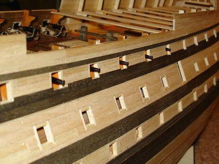 harald60 Baubericht der 2te Victory aus Holz Victor50