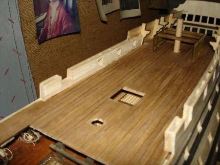 harald60 Baubericht der 2te Victory aus Holz Victor53