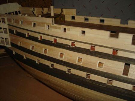harald60 Baubericht der 2te Victory aus Holz Victor54