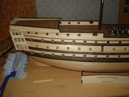 harald60 Baubericht der 2te Victory aus Holz Victor61