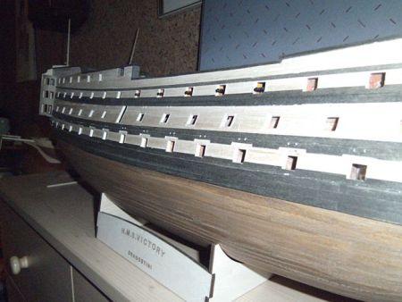 harald60 Baubericht der 2te Victory aus Holz Victor63