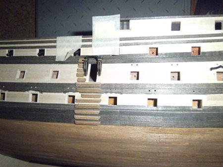 harald60 Baubericht der 2te Victory aus Holz Victor68