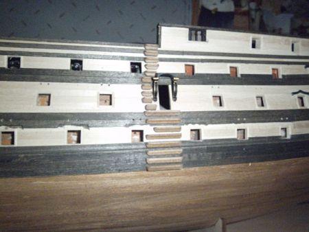 harald60 Baubericht der 2te Victory aus Holz Victor69