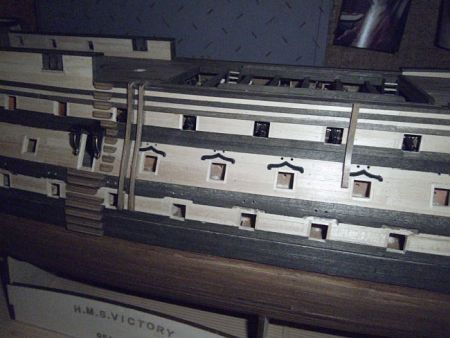 harald60 Baubericht der 2te Victory aus Holz Victor70