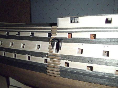 harald60 Baubericht der 2te Victory aus Holz Victor71