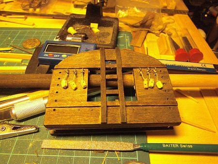 harald60 Baubericht der 2te Victory aus Holz Victor72