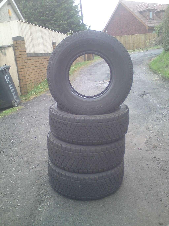 all terrain bridge stone tyres 265 70 15  00310