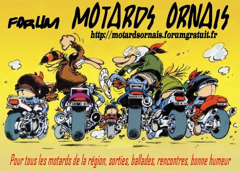 Motards Ornais
