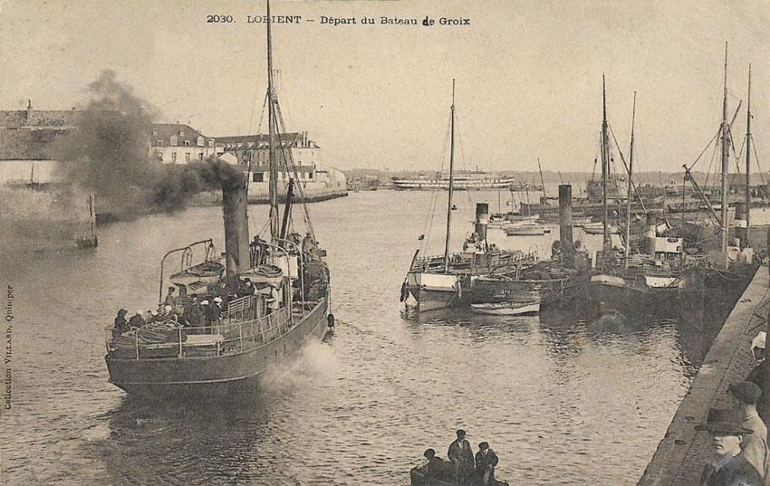 Navires de dessertes ou à passagers, bretons - Page 2 1901-111