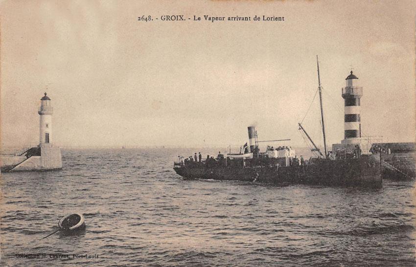 Navires de dessertes ou à passagers, bretons - Page 2 1901-112