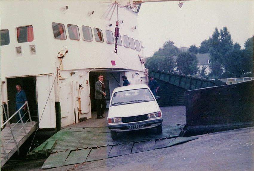 Navires de dessertes ou à passagers, bretons 1983_k13