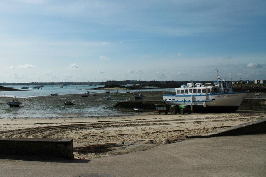 Navires de dessertes ou à passagers, bretons - Page 2 Batz_p10
