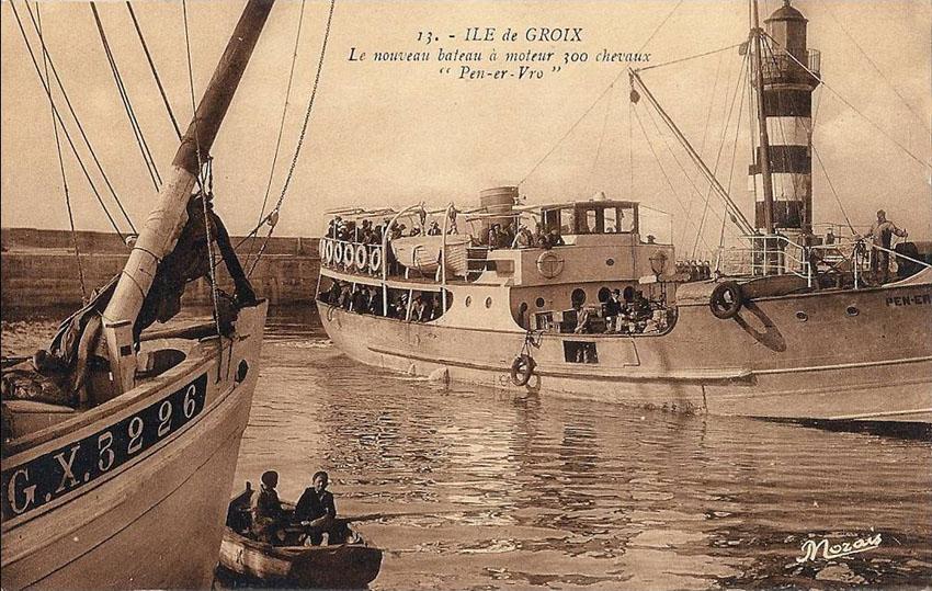 Navires de dessertes ou à passagers, bretons - Page 2 Groix_11