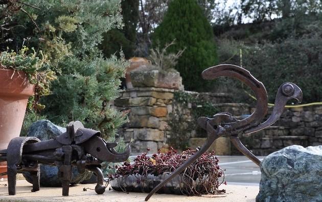 """Déficoncours """"l'art au jardin"""" - participations Fyvrie13"""