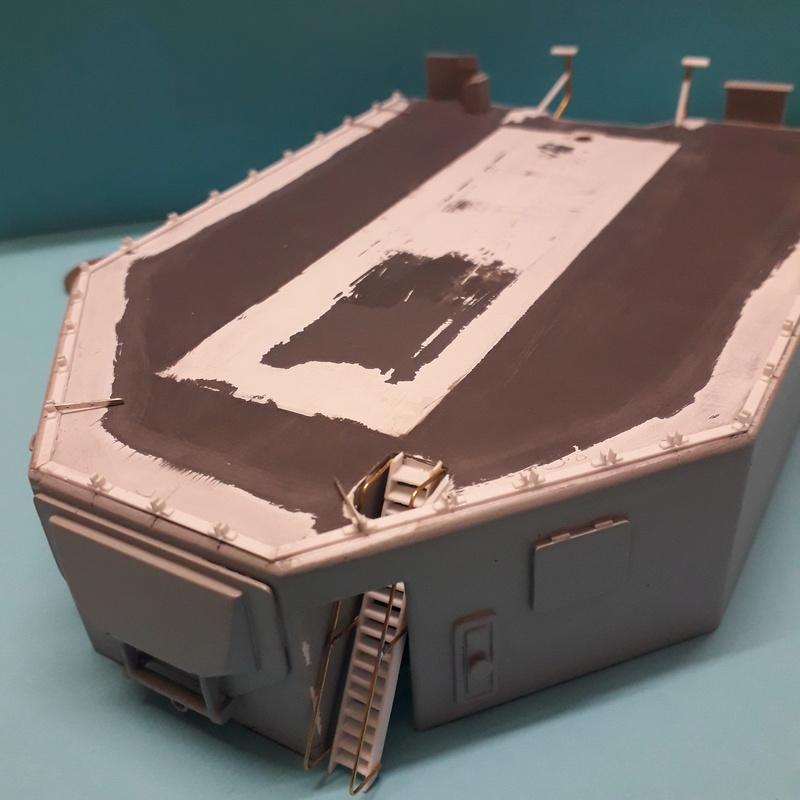 """Escorteur d'escadre """"La Galissonnière""""  plan MRB 1/100è (le chantier a réouvert ses portes) - Page 30 20180114"""