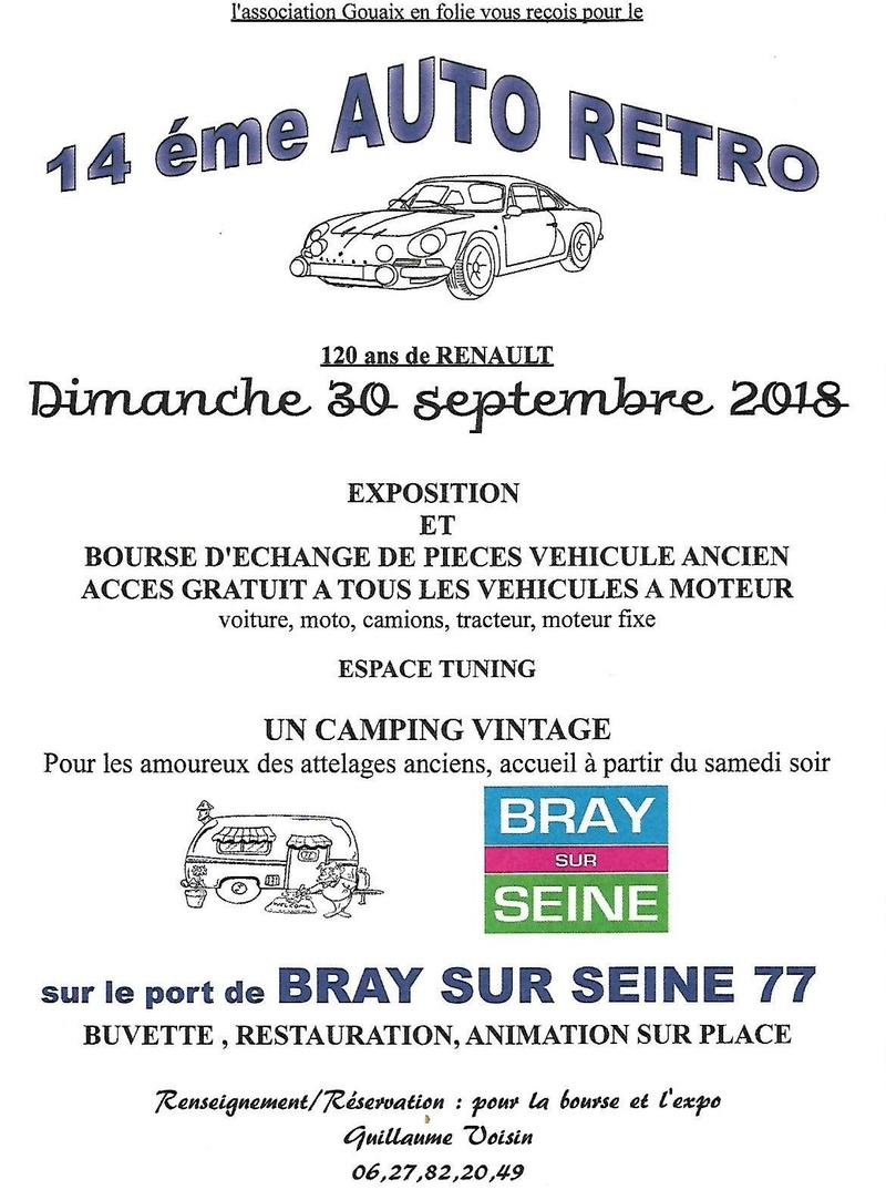 Bray sur Seine (77). 30 septembre 2018 Bray10