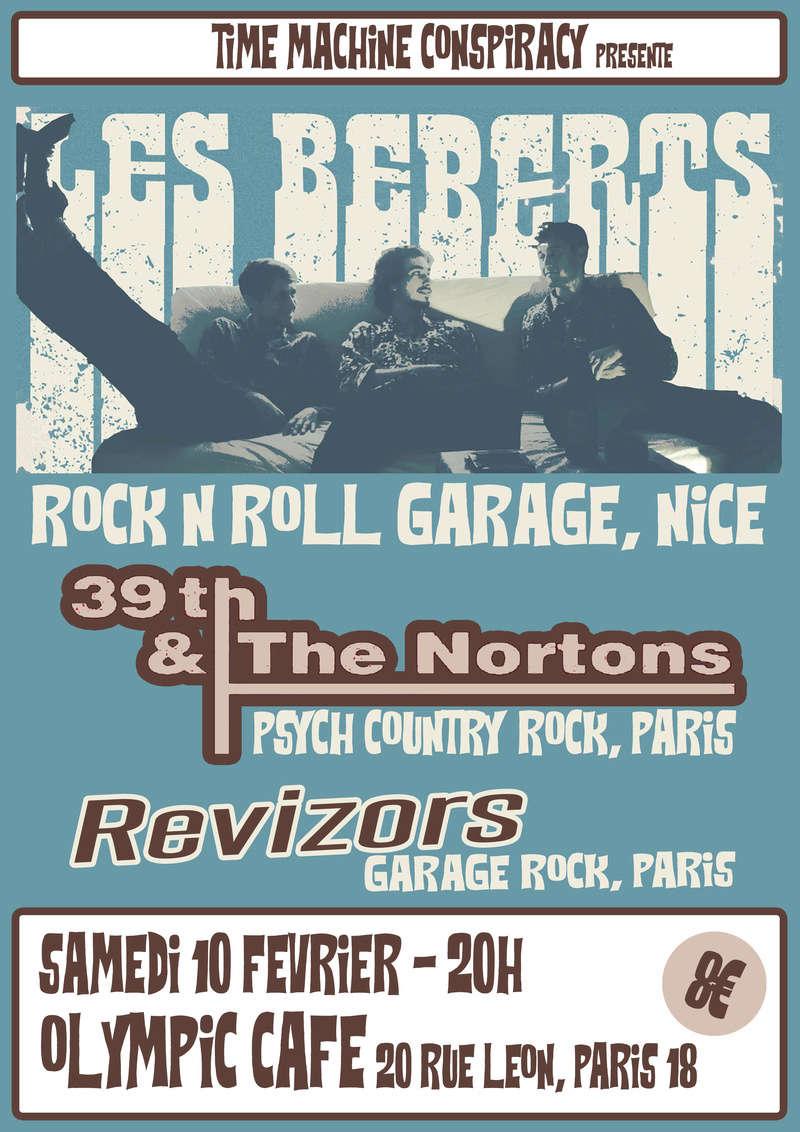 Les Beberts / 39th & The Nortons / Revizors @ Paris Sans_t10