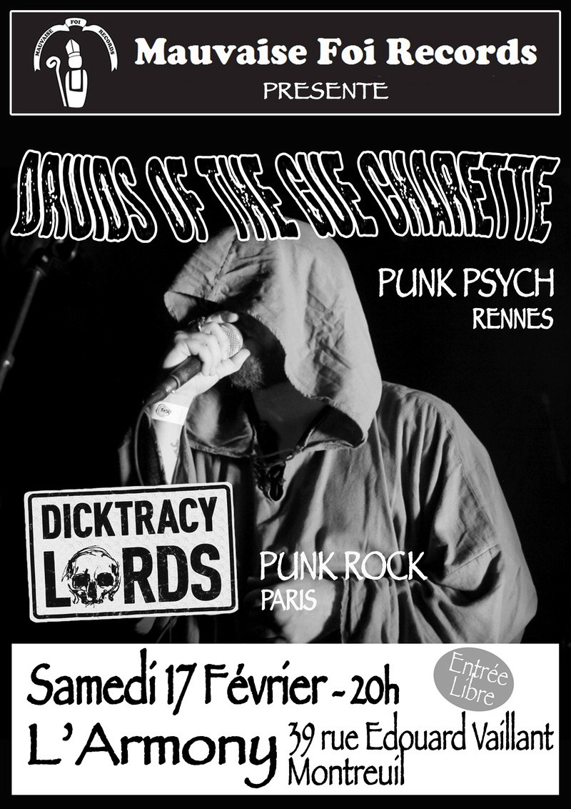 Druids Of The Gué Charette + Dicktracy Lords @ Montreuil Sans_t11