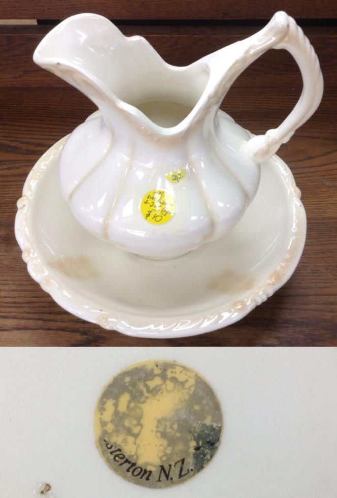 washbowl and jug ... from Masterton? Image35