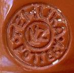 Temuka Pottery terracotta hand thrown jardiniere Temuka11