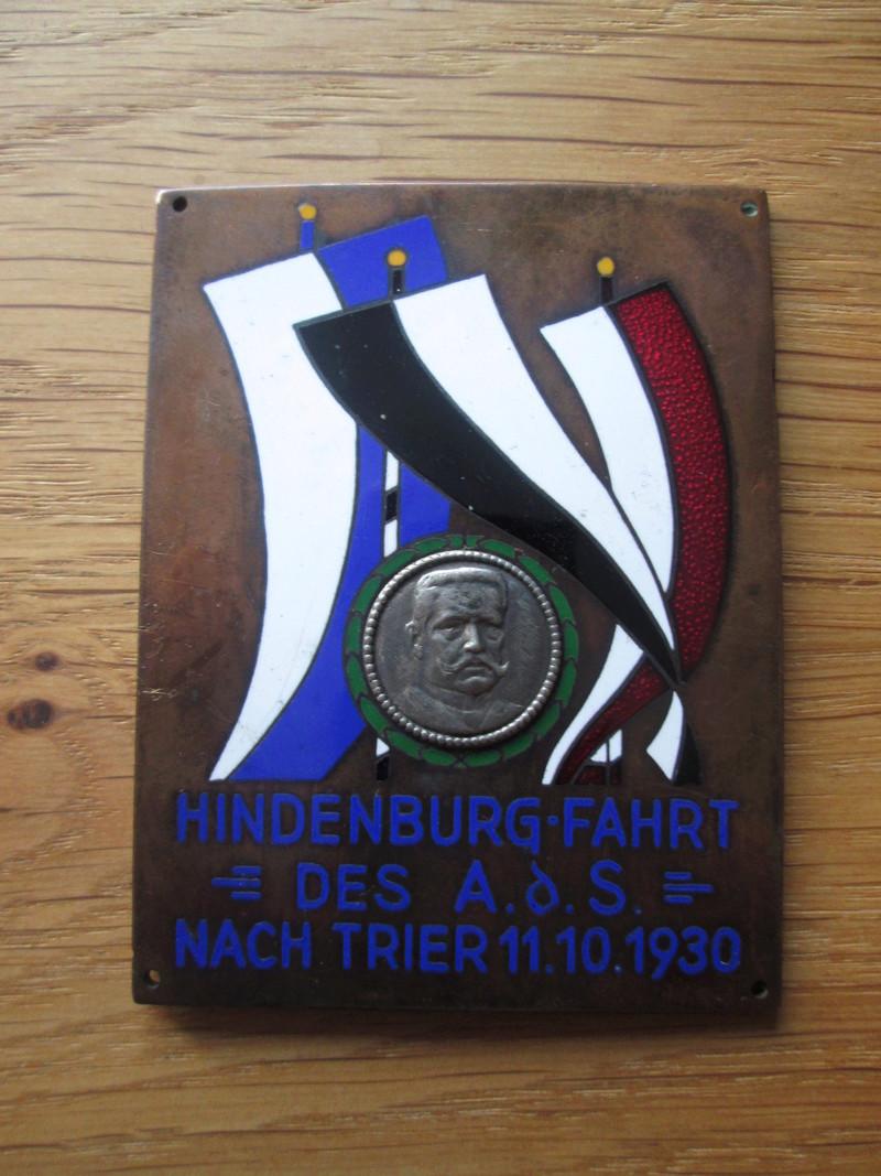 plaque hindenburg Img_1811