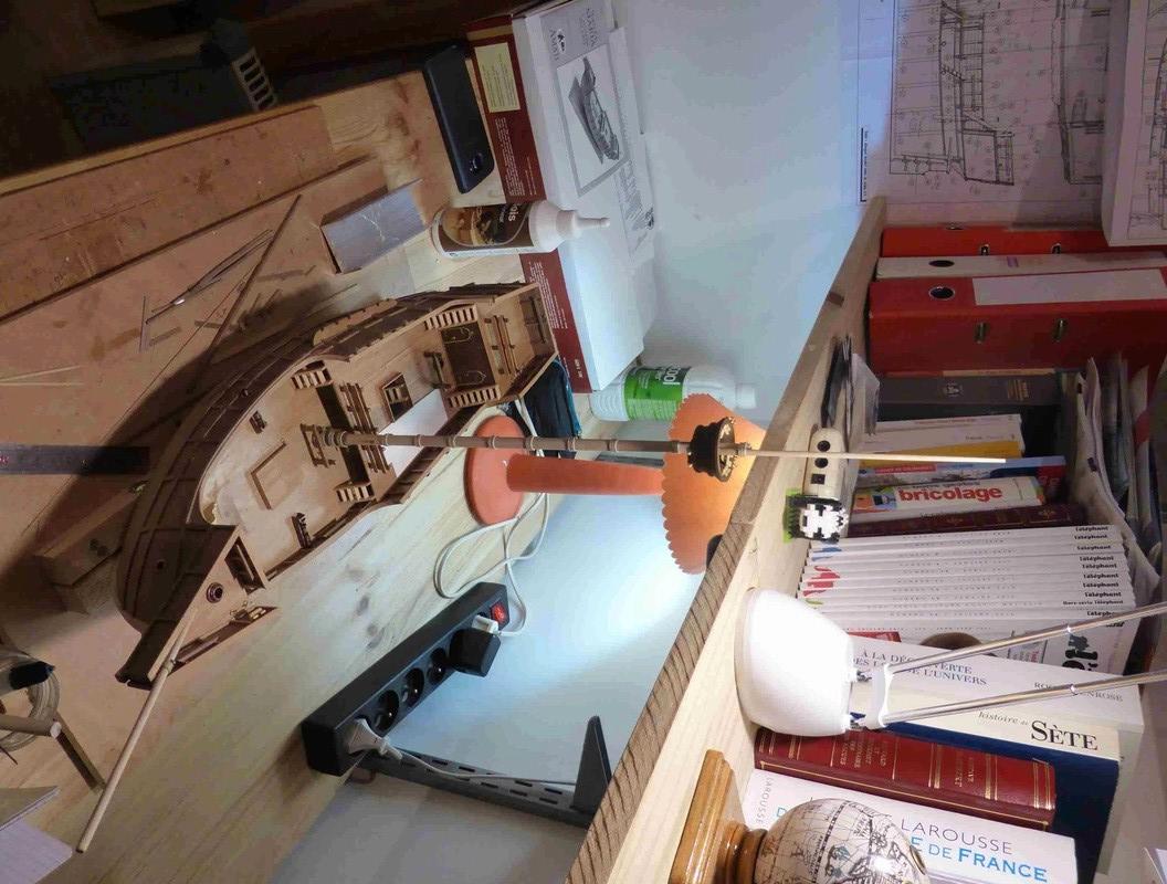 Construction du Santa Maria au 1/65 d'AMATI - Page 6 P1020212