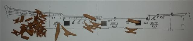 La Belle 1684 scala 1/24  piani ANCRE cantiere di grisuzone  - Pagina 6 R2017010