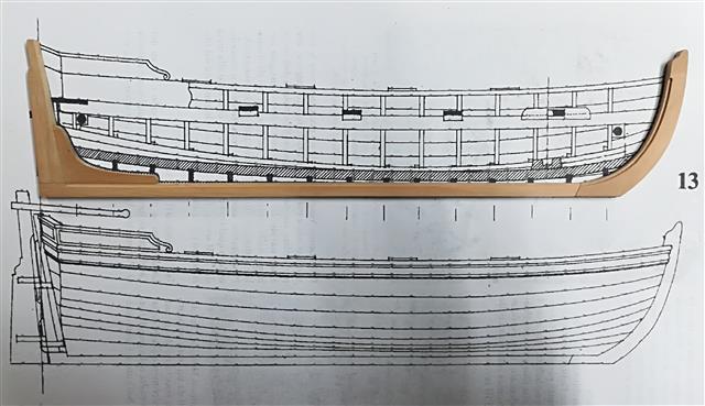 La Belle 1684 scala 1/24  piani ANCRE cantiere di grisuzone  - Pagina 7 Rimg_233