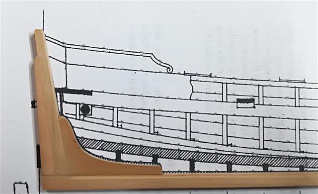 La Belle 1684 scala 1/24  piani ANCRE cantiere di grisuzone  - Pagina 7 Rimg_234