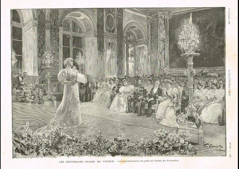 Visite du tsar Nicolas II en France, octobre 1896 Eab69010